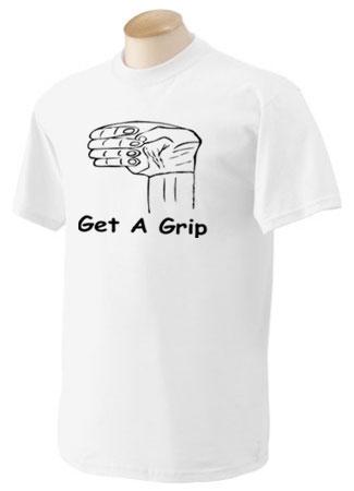 5000G White get a grip